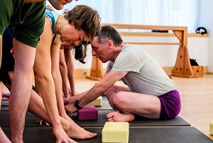 Iyengar yoga with Michael Forbes